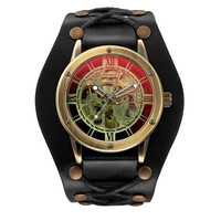 Fashion Vintage Men Watches Skull Watches Men Automatic Mechanical Watches Men Sports Watches Shenhua Relogio Masculino 2019