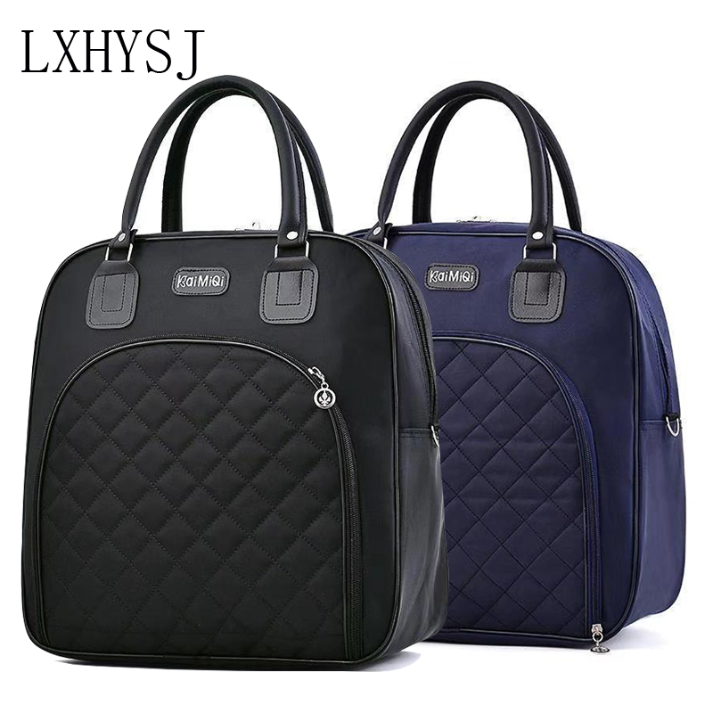 Large Capacity Women Travel Bag Travel Duffle Bag Solid Color Fashion Multifunctional Hand Luggage Bags Waterproof Weekend Pack