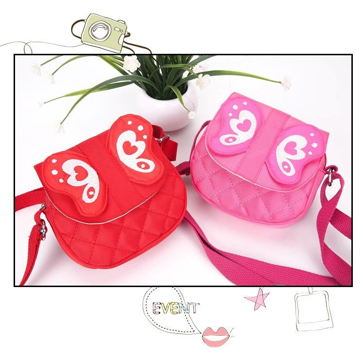 New Kindergarten Baby Kids Backpack Diagonal Bag Cartoon Butterfly Children's Bag Mini Messenger Bag Birthday Gifts For Children