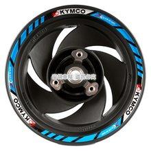 Juego de pegatinas decorativas de vinilo para neumático de rueda de motocicleta, 10 pulgadas, para KYMCO G150 110 125 cualquier Like150, 1 Juego