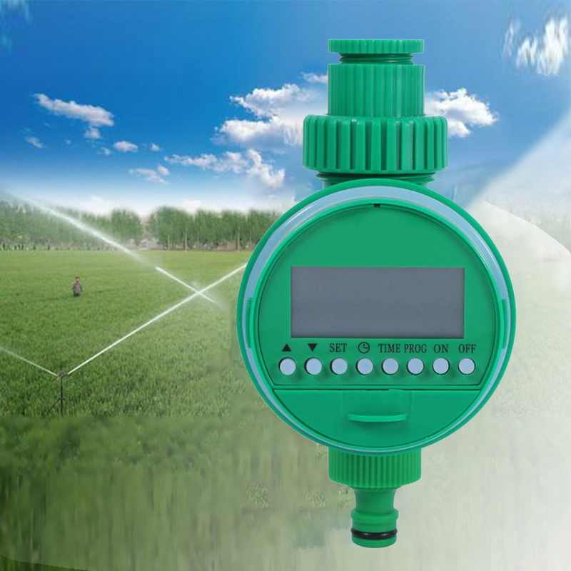 1Pcs Otomatis Taman Irigasi Air Timer Taman Irigasi Controller Penyiraman Timer Selang Keran Timer LCD Display