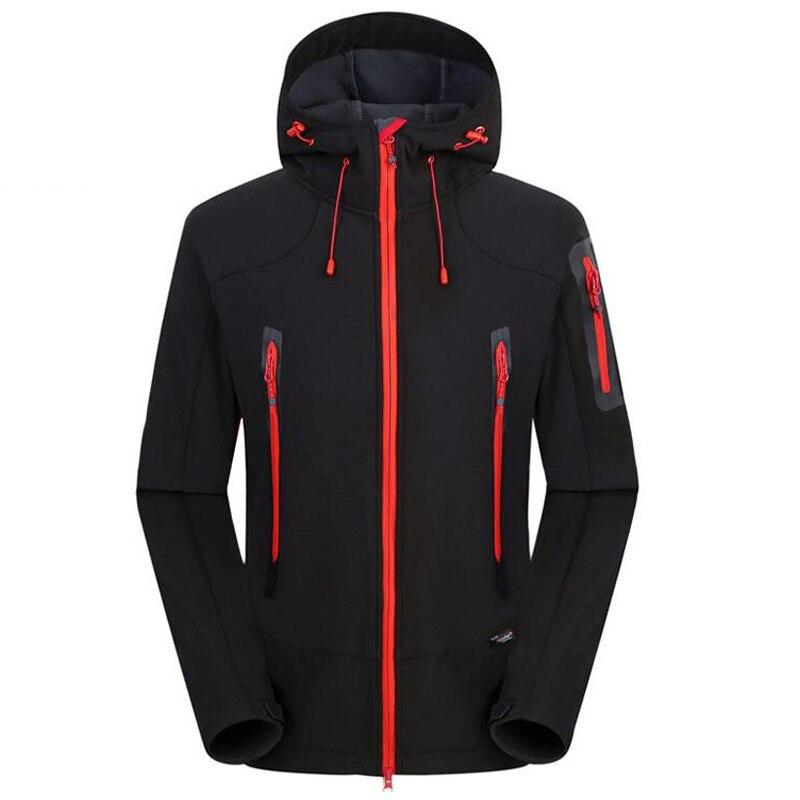 Softshell veste hommes marque imperméable manteau de pluie en plein air vêtements de randonnée hommes tactique militaire coupe-vent doux Shell polaire vestes