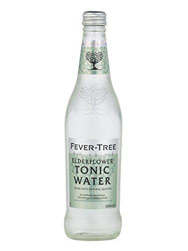 Fever Tree Elderflower Tonic Water 500ml X 8 Bottles