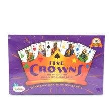 Cinco coroas entretenimento presente reunião da família para crianças adluts jogo de cartas barra interativa lazer viagem clube festa