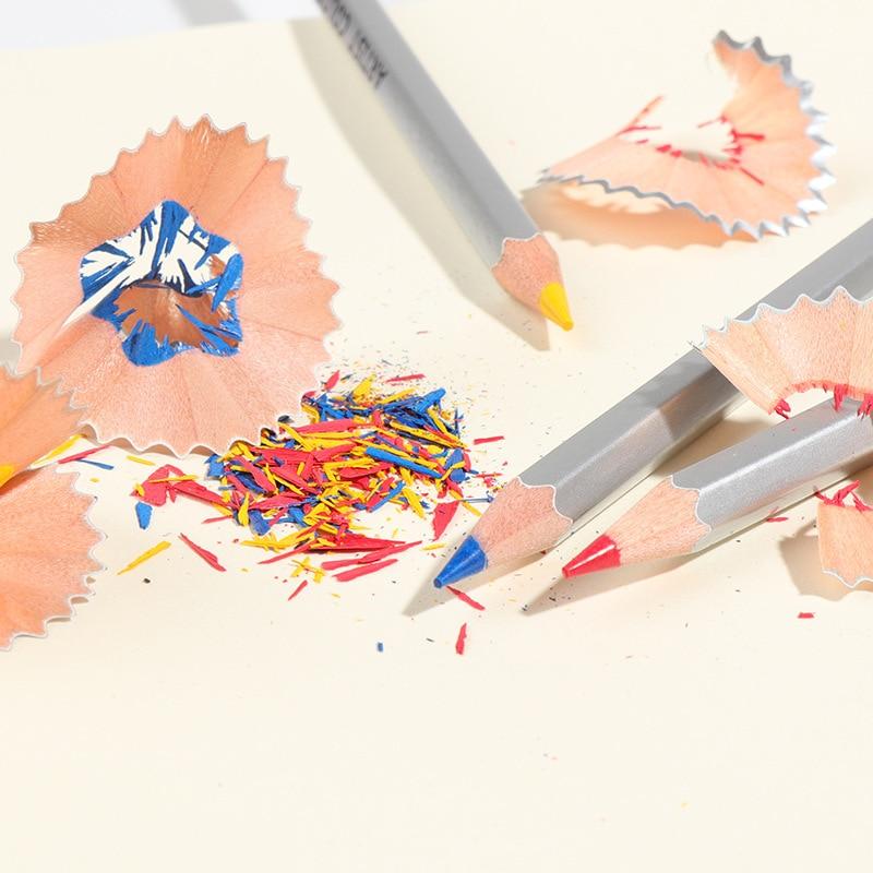 150 colores lápices De colores De madera conjunto De lapisde co artista pintura color aceite lápiz para escuela dibujo materiales para dibujo y Bellas Artes - 4