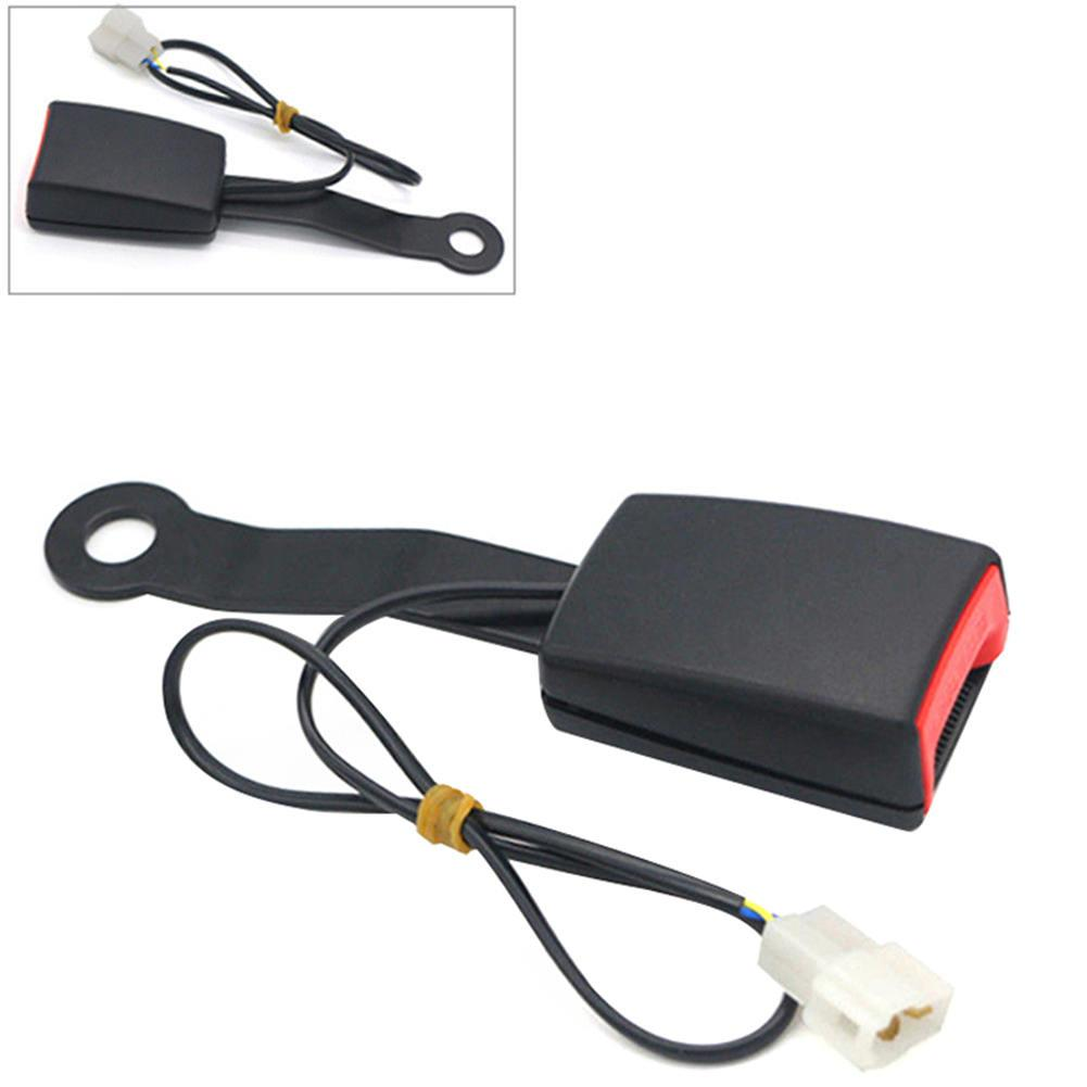 Car Front Seat Belt Durable Buckle Socket Camlock Plug Connector Warning Cable