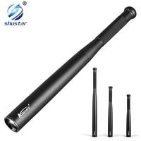 Bate de béisbol Baton LED Flashlight 2000 Lumens CREE XML-T6 Súper Brillante Antorcha de Emergencia y Defensa personal