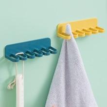 Wall-Hooks Oranger-Tools Seamless Key Kitchen Bathroom Family-Towel Self-Adhesive Multi-Purpose