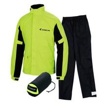 TAICHI мягкий спортивный удобный водонепроницаемый мотоциклетный костюм для дождя, дождя, штанов, Раздельный светильник, длинный секционный портативный