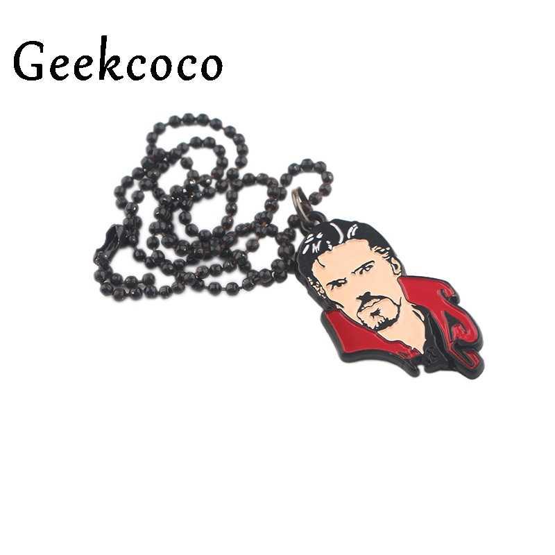 Docteur étrange mode créative Punk chaîne cou sangles pour hommes wemen enfants pendentif colliers charme bijoux fête cadeaux J0605