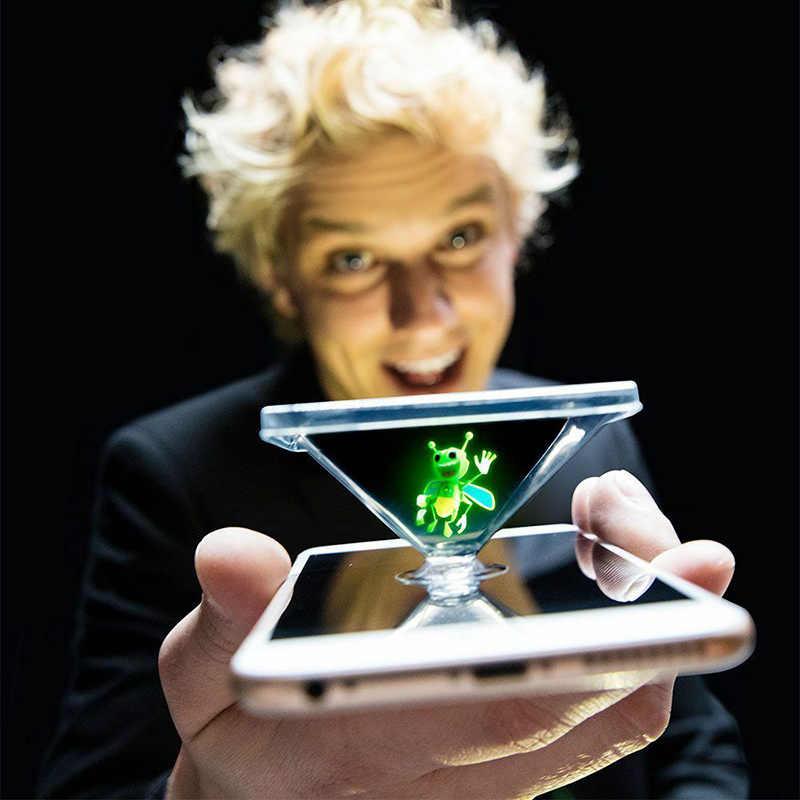 Farolillo mágico de Honeybee, juguete nuevo, lámpara de utilería de dedo mágico, proyector de holograma 3D, juguete de actuación de fiesta para principiantes