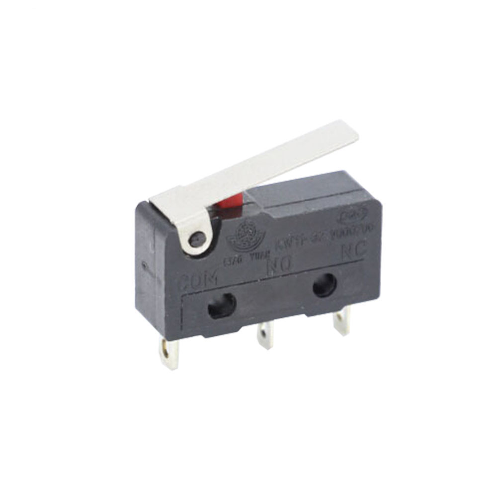 10 PCS/LOT Limit Switch 3 Pin/2 Pin High quality and long life All New 5A 250VAC KW11-3Z  Micro Switch Tact Switch on off