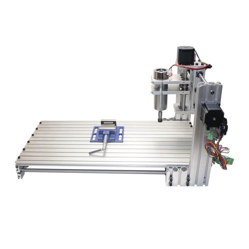 DIY CNC 3060 grawerowanie maszyna 400W drewna frezarka 6030 Ball Screw grawer tokarka rama 3 4 5 osi z ER11 wiertła
