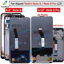 ل شاومي Redmi نوت 8 نوت 8 lcd عرض تعمل باللمس محول الأرقام الجمعية استبدال أجزاء ل Redmi نوت 8 برو lcdشاشات LCD للهاتف المحمول