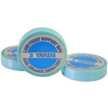 ZZHAIR 1 рулон 1 см 3 ярда синяя кружевная лента для парика-накладка Двусторонняя лента для наращивания волос