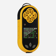 K-400 Portable Multi gas Detector 4 In 1 CO, H2S,O2,EX features two instant alarms Gas Monitor With large LCD