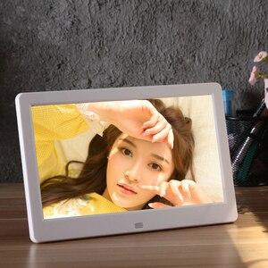 10 дюймов Экран светодиодный HD Цифровая фоторамка мульт медиа плеер MP3 MP4 фильм будильник для ребенка подарок на Новый год|Цифровые фоторамки|   | АлиЭкспресс