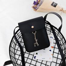 Women's bag new mobile bag small package college wind Han version of the single shoulder bag women's bag summer on new small bag woman package 2019 new pattern han banchao single shoulder satchel fashion concise joker fairy package
