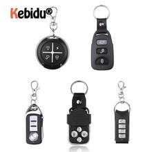 Garage Gate Door 433MHZ Remote Control Key Ring Auto Pair Copy Remote Garage Door Opener Remote Controller Duplicator Universal