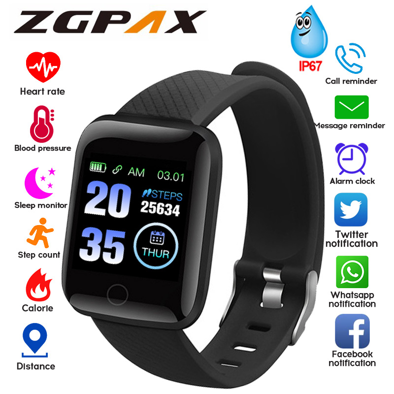 Smart Watch Men Smartwatch Women Blood Pressure Heart Rate Monitor Waterproof Smart Watches Sport For Android IOS Dropshipping