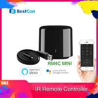 Neueste Broadlink 2020 Bestcon RM4C mini Universal 4G Wifi IR Mini Fernbedienung Kompatibel Alexa Google Assistent Für AC