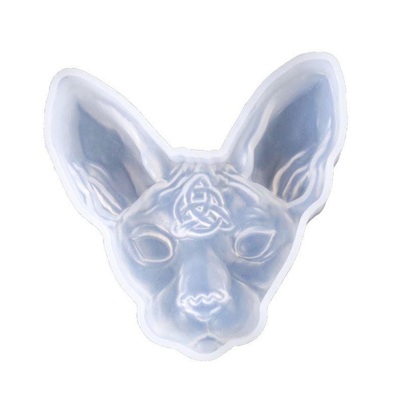 3D Cartoon Cat Silicone Resin Epoxy UV Glue Mold Creative Craft DIY Pendant Jewelry Brooch Making Accessory Tool T4MD