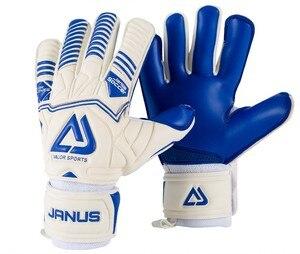Image 1 - Professional Adult&Kids Football Goalkeeper Gloves Men Soccer Goalie Gloves CONTACT full latex finger detachable inner seam