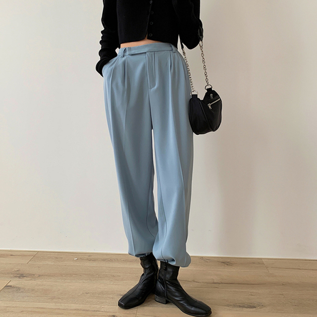 Casual Loose Women Suit Pants 2