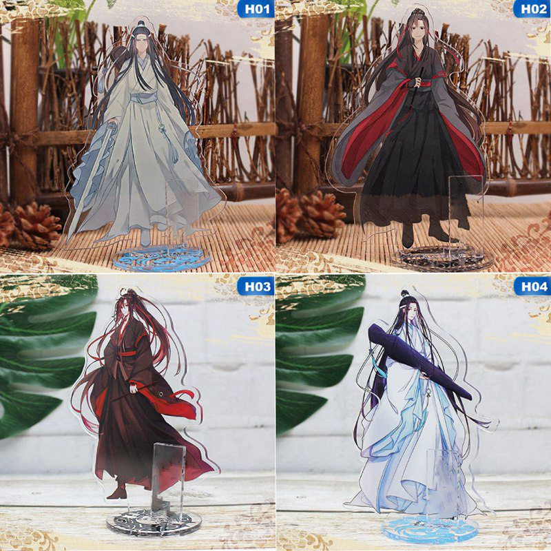 Mo Dao Zu Shi Acrylic Licensing  For Children Wei Wuxian Lan Wangji Model Double-Side Desktop Decoration Anime Around Bookends