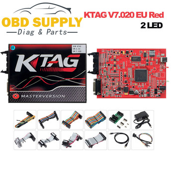 KTAG V7.020 V2.23 2   Version principale, aucune limite de jeton, voiture/moto/camion, programmation ECU FW V7.020 SW V2.23 BDM, fonction