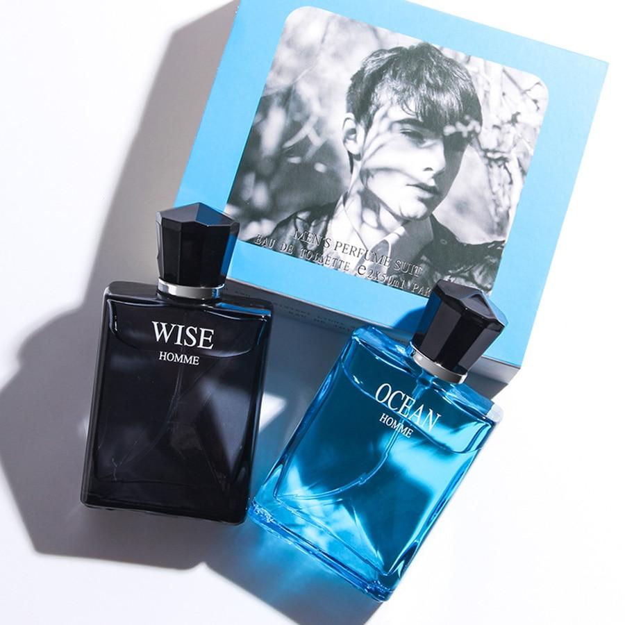 JEAN MISS Perfume For Men 50ML Glass Bottle Male Parfum Brand Fresh Lasting Fragrance Spray Original Men Perfumed Natural