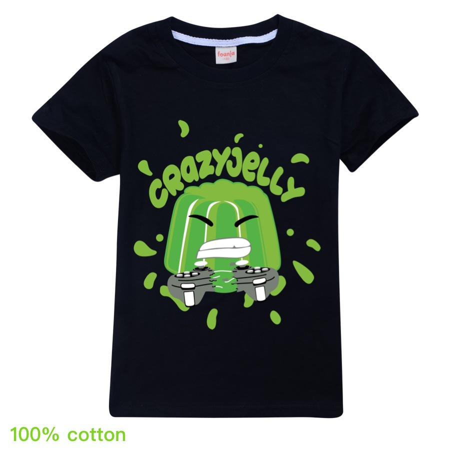Jelly Youtube Boys Clothes Fashion 12 color T Shirt Kids Clothes Girls Fall Outfits Spring Child Student Unisex 4