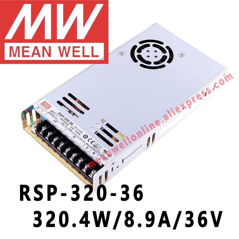 Fuente de alimentación 320W 36V 8,9A ; MeanWell RSP-320-36