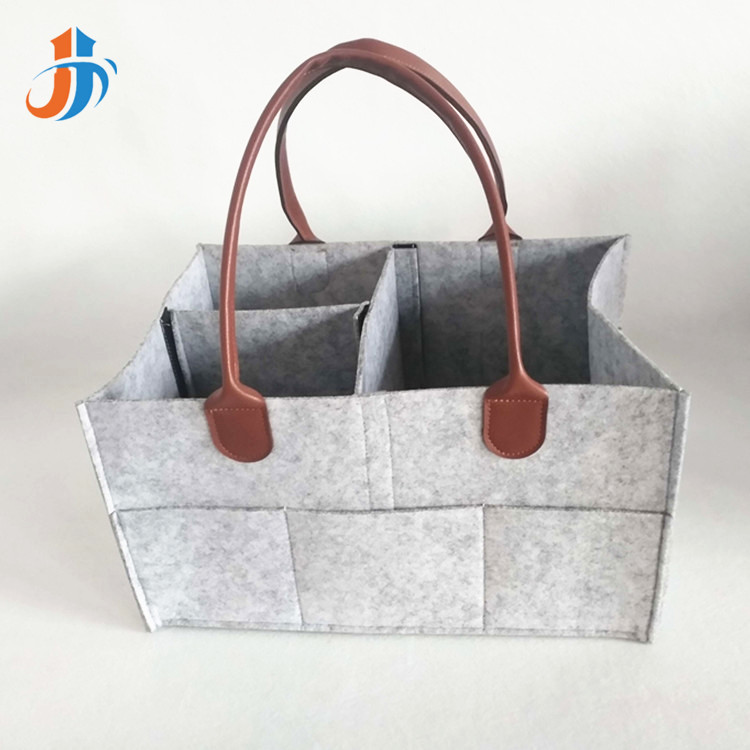 2019 New Style Felt Diaper Bag Travel Diaper Bag Children Infant Toy Bag
