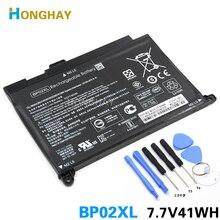 HONGHAY 41wh 5150mAh بطارية كمبيوتر محمول BP02XL ل HP جناح PC 15 15 AU 849909 850 849569 421 HSTNN LB7H BP02041XL HSTNN UB7B