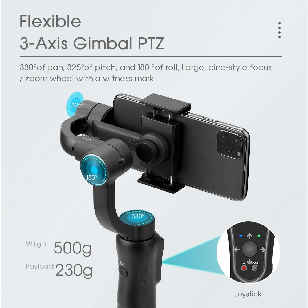 Tërheqja dhe zmadhimi i fokusit të stabilizuesit gimbal dore - Kamera dhe foto - Foto 4