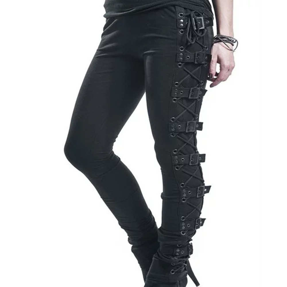 Top 10 Most Popular Gothic Plus Size Pants List And Get Free Shipping A893