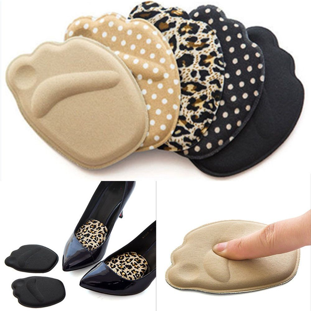 Forefoot Insole Shoes Pads High Heel Soft Insole Anti-Slip Foot Protection Foot Cushions Sponge Pain Relief Women Foot Care