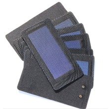 High Quality 0.3W 2V Waterproof Foldable Solar Panel DIY Battery Cell Flexible Amorphous Silicon Membrane Solar Charging Panel buheshui 1w 4v solar panel with base solar cell for 1 2v 2xaa 2xaaa rechargeable battery charging directly 10pcs high quality