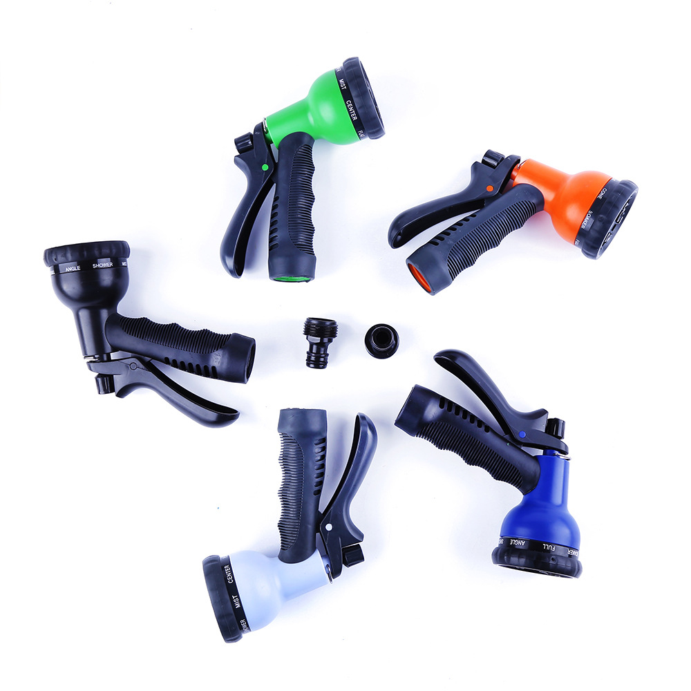 Zhiren Household Car Washing Gun Vehicle Cleaning Only Drop-resistant High Pressure Explosion-Proof 789 Feature Water Gun Magic