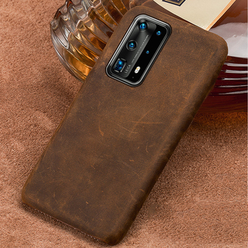 Original PULL-UP Leather Phone Case for Huawei P40 Pro Plus P40 Lite P20 P30 Lite mate 20 Retro Cover For Honor 9X 8X 10 20 Pro