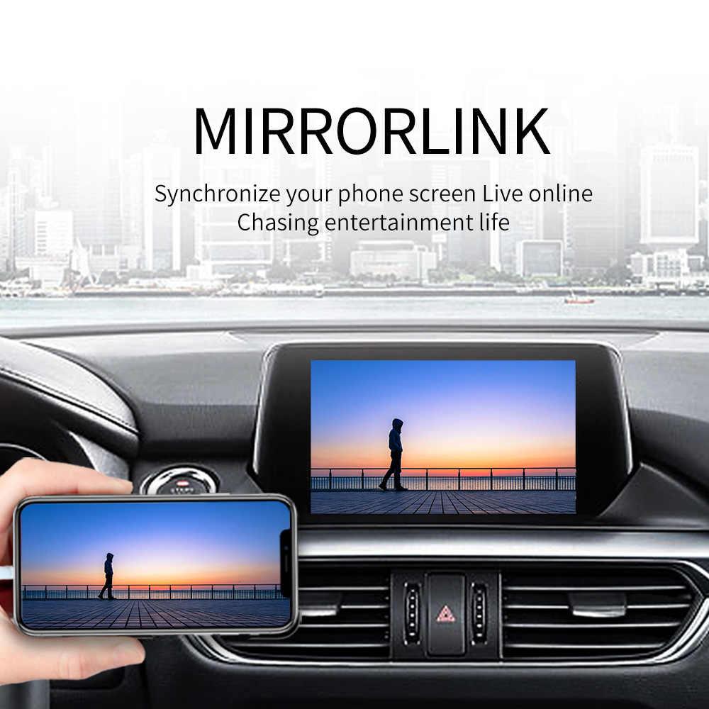 Carlinkit ワイヤレス CarPlay アウディ A6 A7 A8 C7 Q7 2010-2018 MMI 3 グラム/3 グラム + muItimedia インタフェース CarPlay & android の自動レトロフィットキット