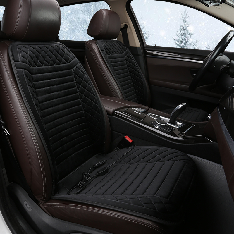 Car Seat Cover 12V Heated Car Seat Cushion Car Covers for Mercedes Benz M Class <font><b>Ml</b></font> <font><b>350</b></font> Ml320 W163 <font><b>W164</b></font> W166 Gle Gle43 Gle63 image
