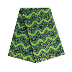 2019 wysokiej jakości tkanina atiku nigeria kwiat wosk afrykańska ankara pagne holenderski blok drukowany w tkaninie 100% bawełna V L 806|Dekorowanie tkanin|Dom i ogród -