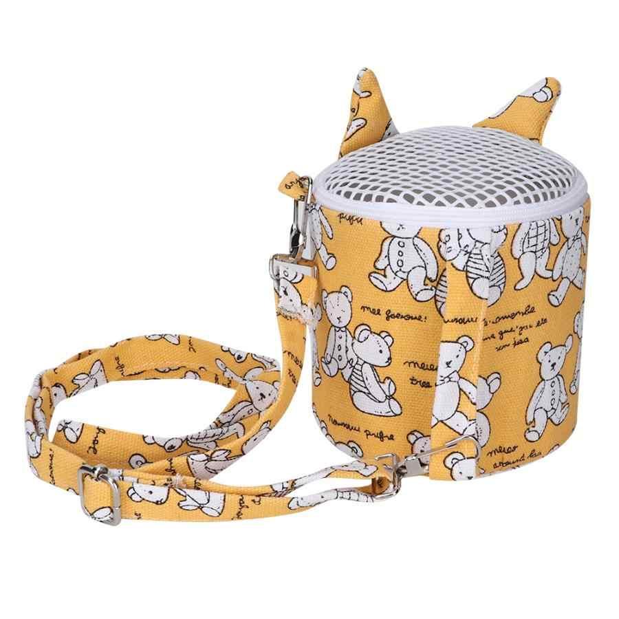 Orso Modello Portatile Mini Regolabile Pet Criceto di Raffreddamento Carrier Borsa Da Viaggio per Lo Zucchero In Uscita Aliante Siriana Chinchilla