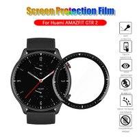 Protector de pantalla 3D para Huami Amazfit GTR 2, película protectora suave y transparente, a prueba de arañazos, accesorios para reloj inteligente