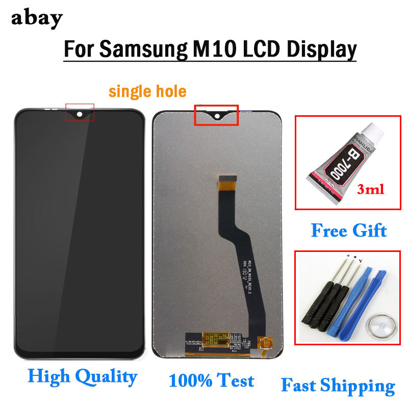 OEM For <font><b>Samsung</b></font> SM-M105F <font><b>M10</b></font> Display <font><b>lcd</b></font> <font><b>Screen</b></font> replacement for <font><b>Samsung</b></font> M105F SM-M105 <font><b>M10</b></font> <font><b>lcd</b></font> display touch <font><b>screen</b></font> Glue+Tools image