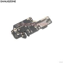 10 pçs/lote para xiaomi redmi nota 8 doca de carregamento usb jack plug tomada porto conector placa carga cabo flexível