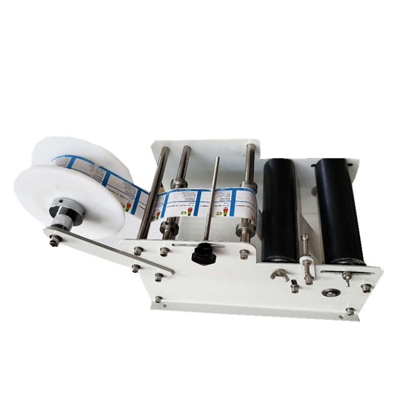 Cheap hand manual Labeling Machine for round bottles manufacturing price universal oil filter wrench