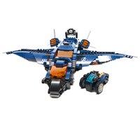 7141 875pcs super heroes avengers ultimate quinjet bela 6 figures building blocks 76126 Toys For Children